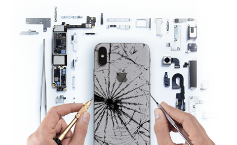 iPhone Rear Glass Repair